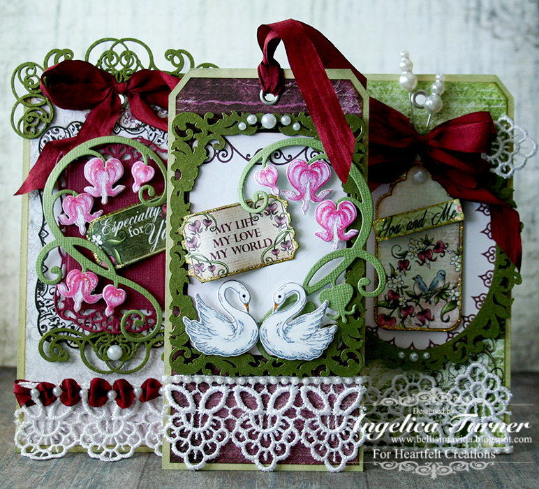 Romantique Tags {Heartfelt Creations}