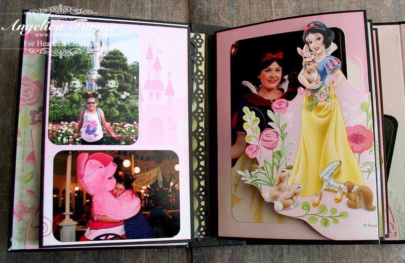 Disney Mini Album {Heartfelt Creations}