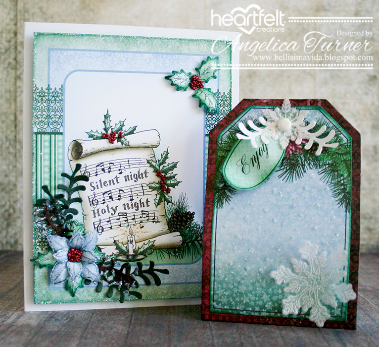Christmas Note Card and Gift Box Set