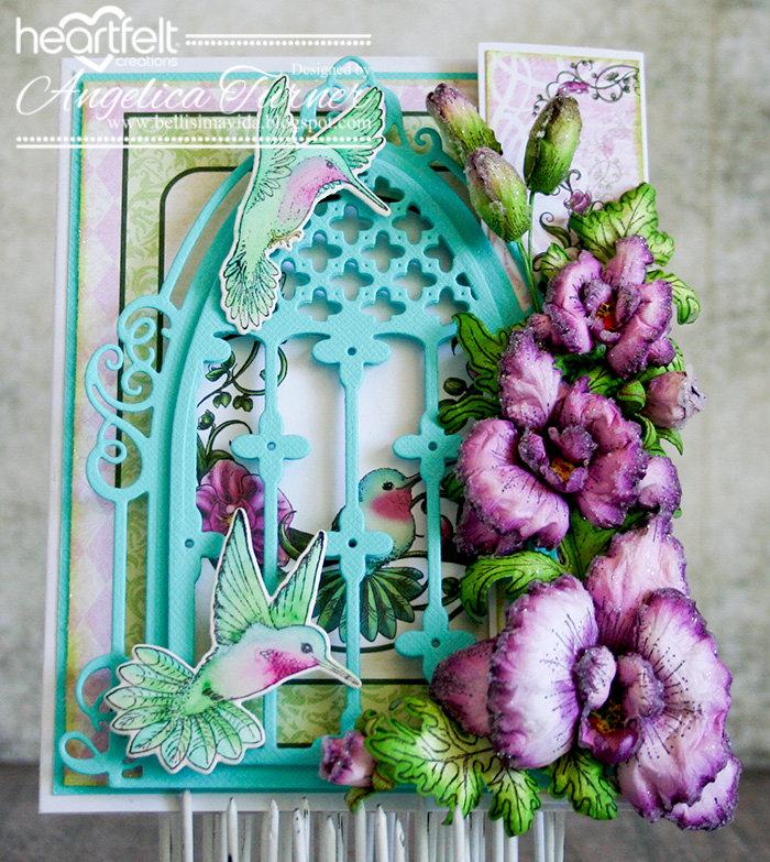 Orchid Birthday {Heartfelt Creations}