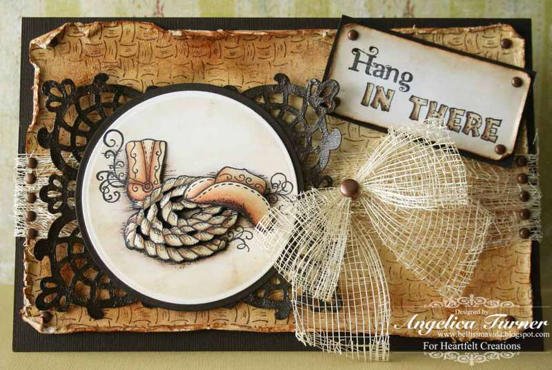 Hang In There {Heartfelt Creations}
