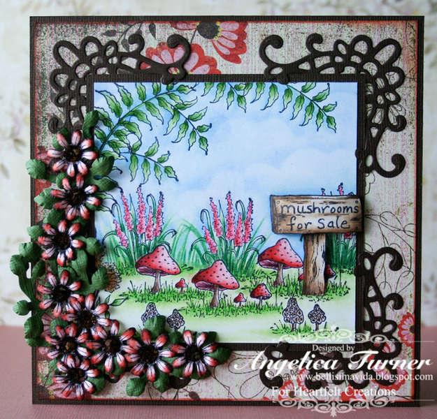 Mushrooms for Sale {Heartfelt Creations}