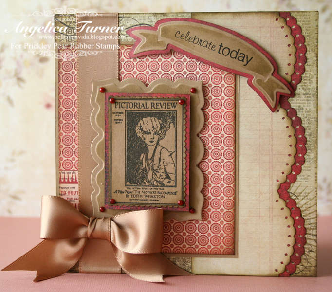 Celebrate Today {Prickley Pear Rubber Stamps}