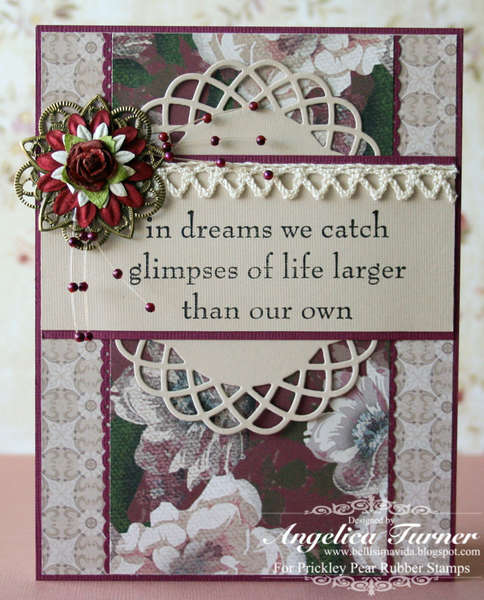 In Dreams {Prickley Pear Rubber Stamps}