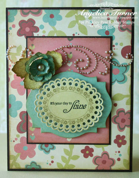 Shine {Prickley Pear Rubber Stamps}