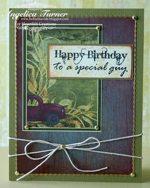 Happy Birthday {Heartfelt Creations}