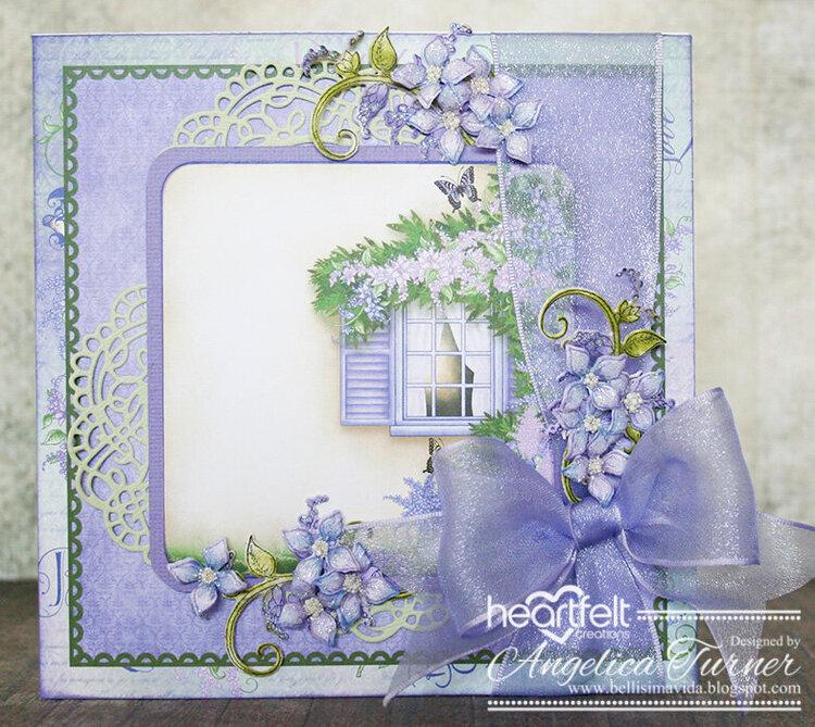 Lush Lilac Window