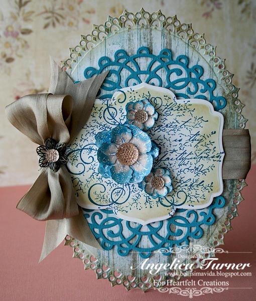 Vintage Floret {Heartfelt Creations}