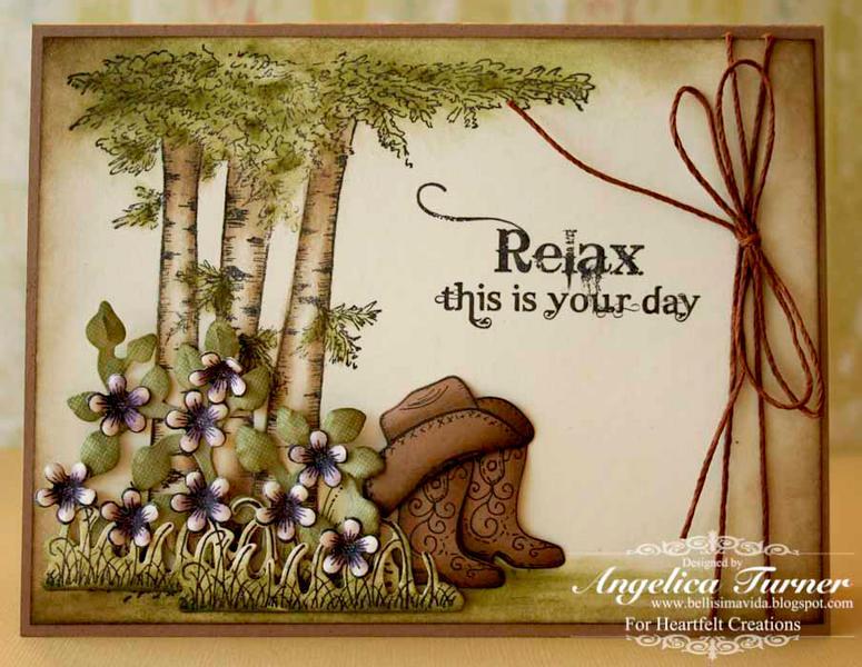 Relax {Heartfelt Creations}