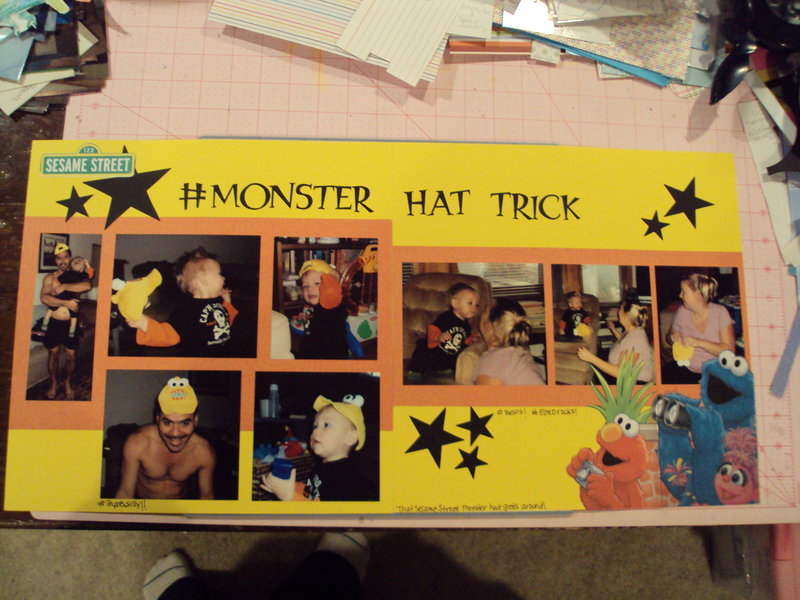 #Monster Hat Trick