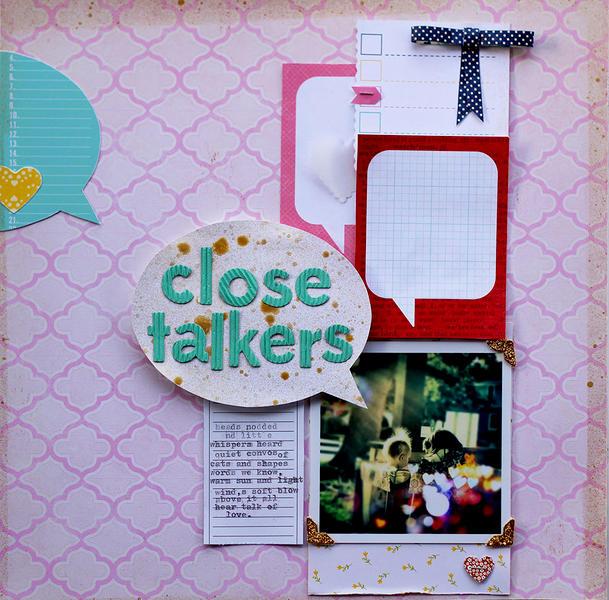 Close Talkers *Cocoa Daisy Feb kit*