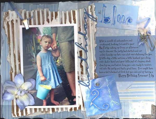 birthday in blue  <br>*MM 501 ideas*