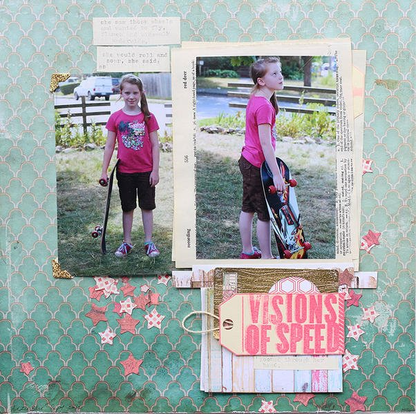Visions of Speed *March Cocoa Daisy kit*