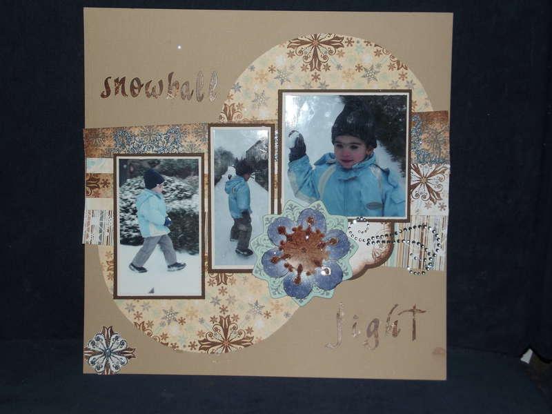 Stanlee 2012 Bo Bunny Snowfall
