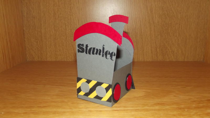 Stanley locomotief from Thom the train for my son Stanlee