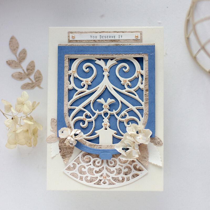You Deserve It Card - Amazing Paper Grace