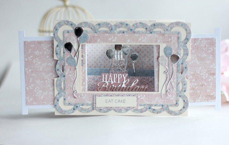 Celebration Make a Scene Card - Amazing Paper Grace