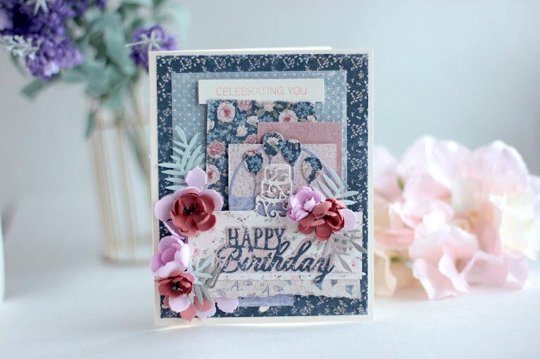 Happy Birthday Card - Amazing Paper Grace