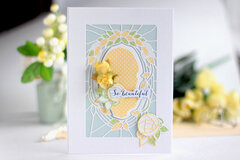 Deco Bloom Card - Amazing Paper Grace