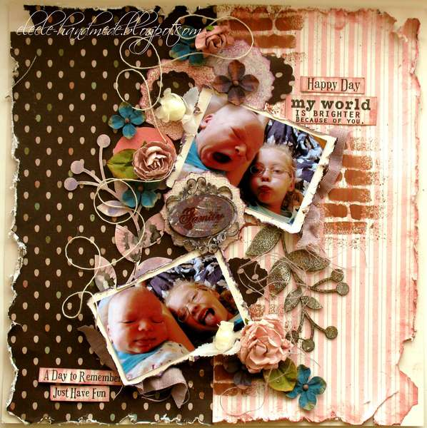 Sunday morning **Scraps of Elegance** and **Creative Scrappers 219**
