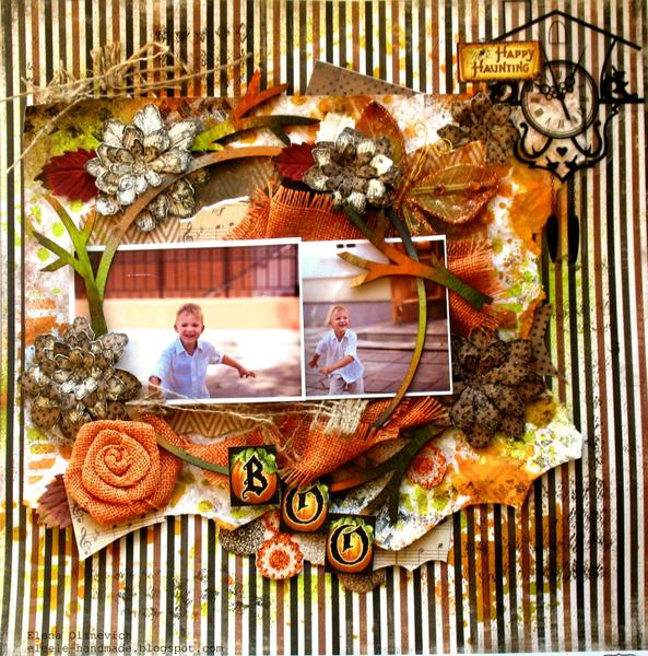 "Boo-so Bright ""Scraps of Darkness"""" and Creative Scrappers 231"