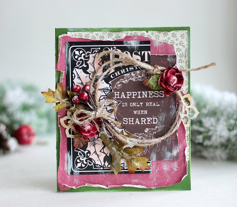 Christmas Card **Swirlydoos November Kit**