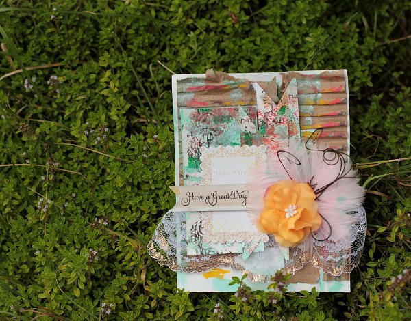 Mixed Media Card **Faber - Castell Design Memory Craft** GDT