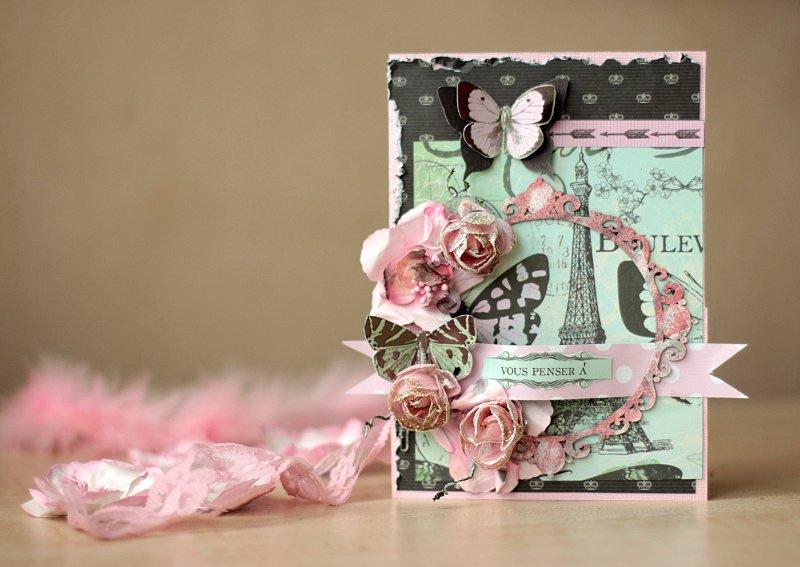 Paris Card **Manor House Creations**