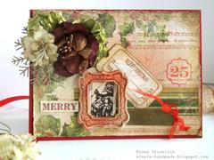 Christmas Tag **Manor House Creations**