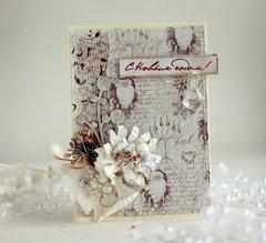 Christmas Card **Maja Design** and **Manor House Creations**