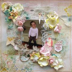 Thanks For Being You **Manor House Creations** and Clear Scraps