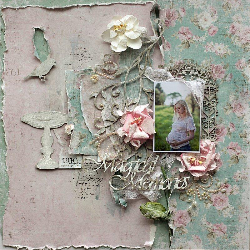 Magical Memories **Maja Design** and **2Crafty Chipboard**