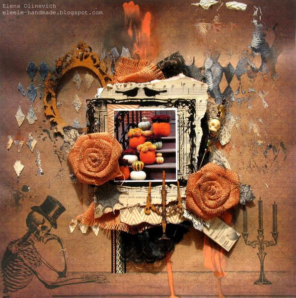 "Pumpkin Mood ""Scraps of Darkness"" October Kit"