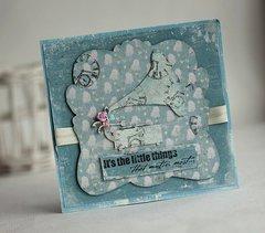 Gramaphone Card **Maja Design**