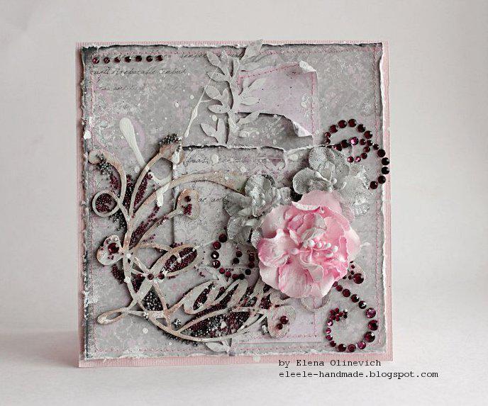 Love Card **Maja Design** and **Manor House Creations **