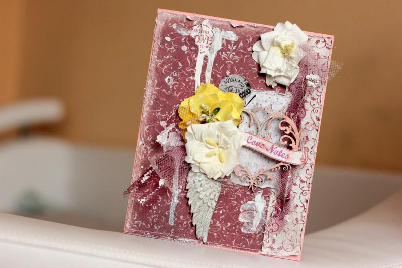 Love Notes **Maja Design** and **Manor House Creations**