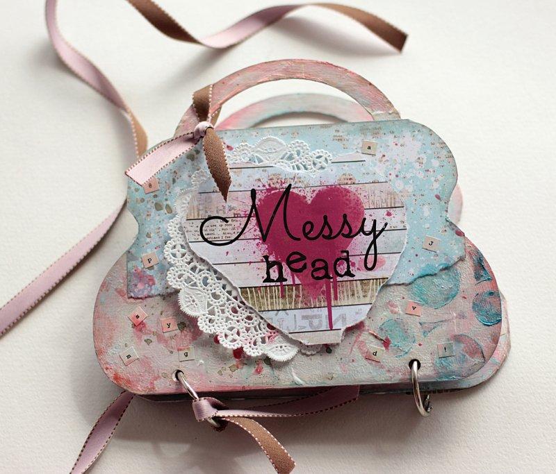 Messy Head Mini Album **Clear Scraps**