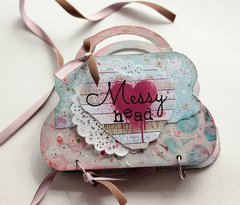 Messy Head Mini Album **Clear Scraps**