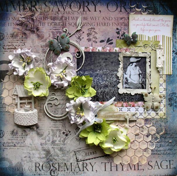 "Sweet Waiting ""Manor House Creations and 2Crafty Chipboard"""
