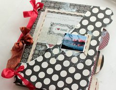 Well Traveled Mini Album **Clear Scraps**