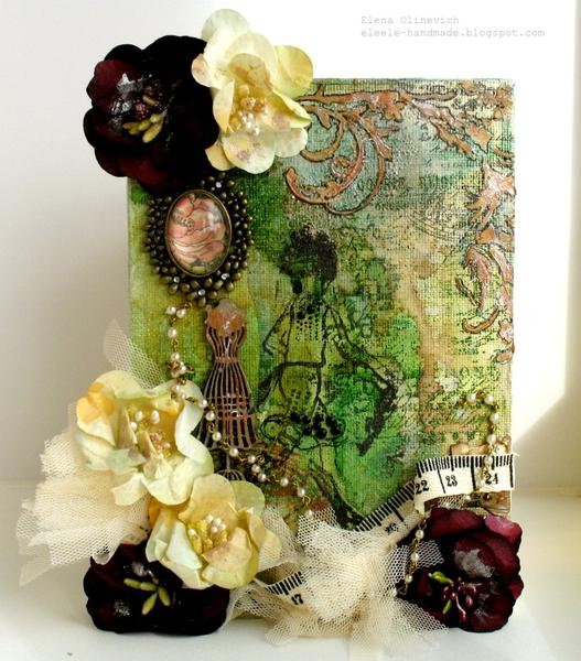 Canvas Project **Manor House Creations and Scraps Of Darkness**