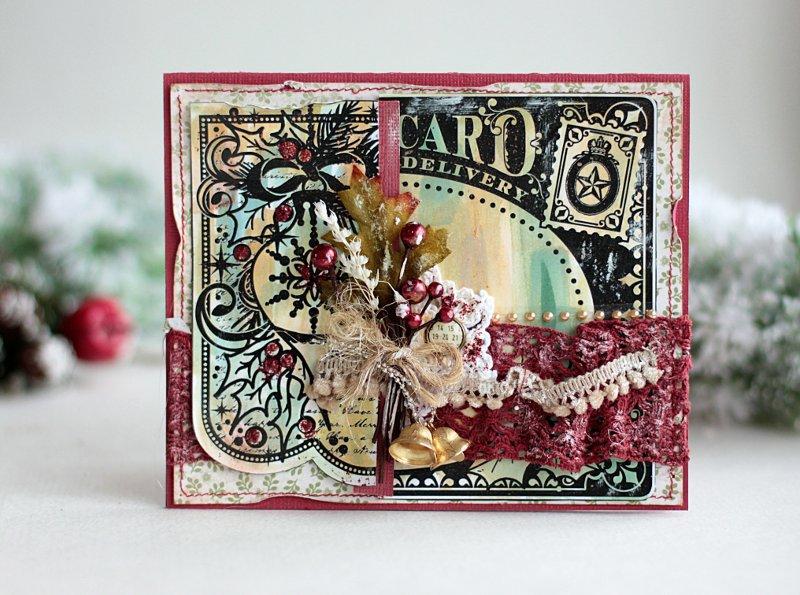 Christmas Card **Swirlydoos November Kit**