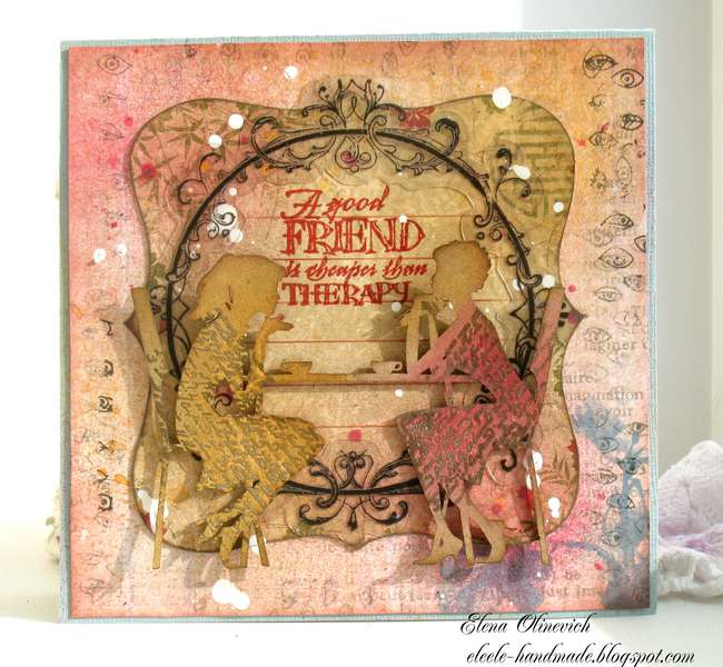 A Friend **Scraps of Darkness/Elegance* and *2Crafty*