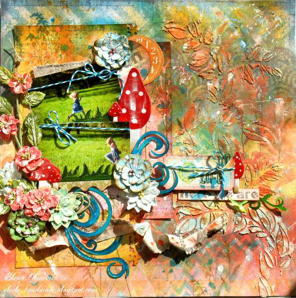 Summer moves on **Scraps of Darkness** and Flourish With A bling