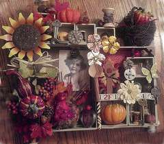 Fall/Thanksgiving Shadow Box
