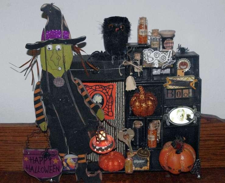 Halloween Memory Box