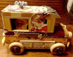 Graphic 45 ABC Primer Car