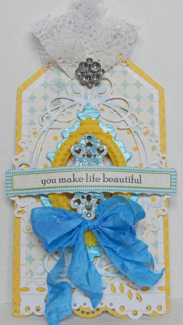 You Make Life Beautiful {Tag} *Blue Fern Studios*