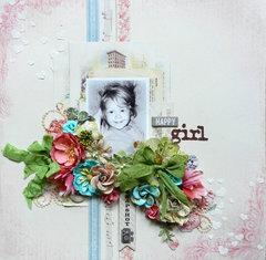 Happy Girl **C'est Magnifique August Kit**