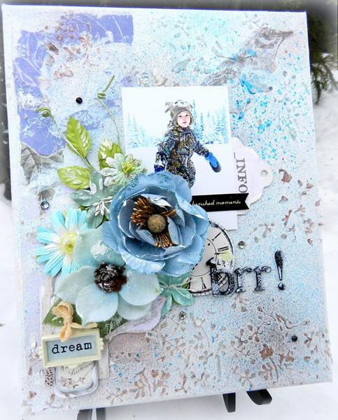 Brr! (Canvas) **C'est Magnifique January Kit**
